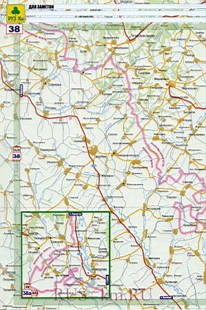 Карта авто дорог города