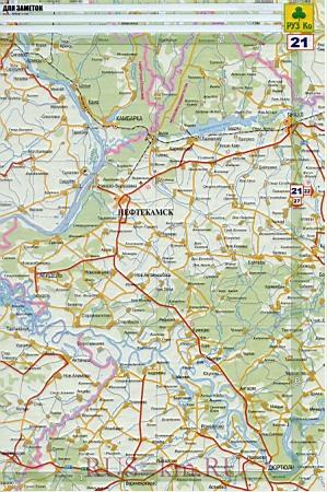 Карта дорог Нефтекамск.