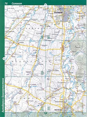 Мечетлинский Район Карта
