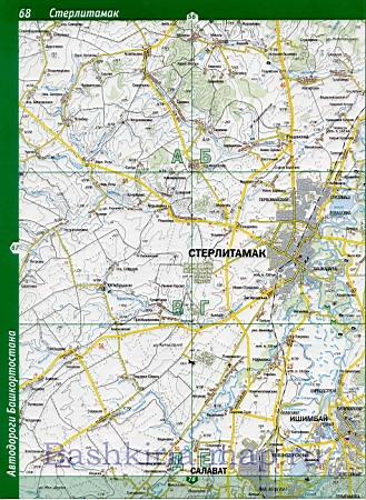 Карта Стерлитамакского Района Подробная
