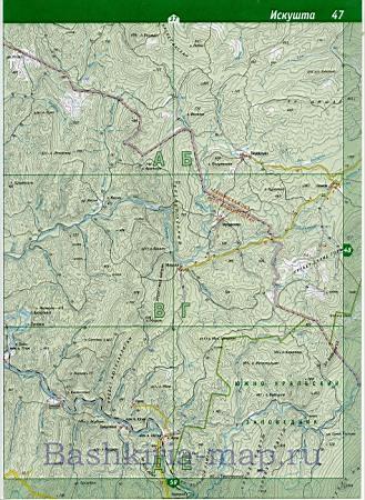 Карта Белорецкого района